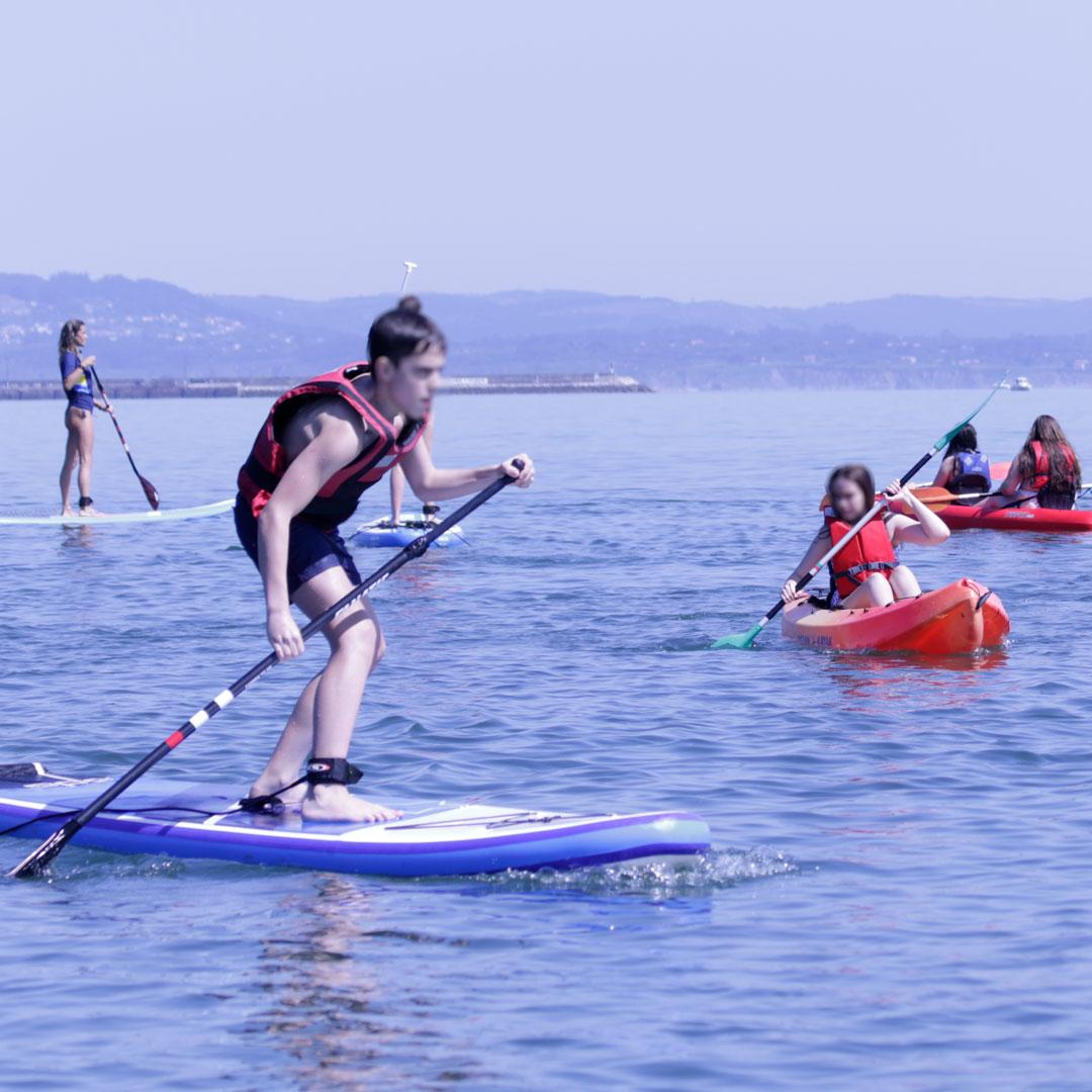 Cursos paddle surf Coruña - La Espina Sport Club